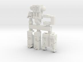 Optimal Master in White Natural Versatile Plastic