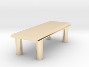 Just A Table in 14K Yellow Gold