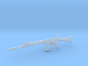 1/12 scale FN FAL in Smooth Fine Detail Plastic