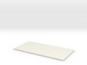 Betonklinker Oprit 500x200cm KOMO Grijs in White Natural Versatile Plastic