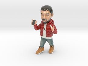 Drake in Glossy Full Color Sandstone