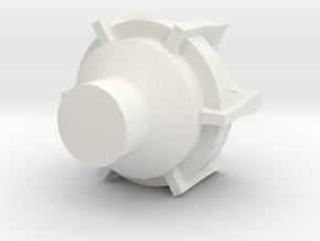 Satelite CH-Antena RX up in White Natural Versatile Plastic