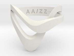 KAZE BASIC monochrome + color  in White Natural Versatile Plastic: 5 / 49
