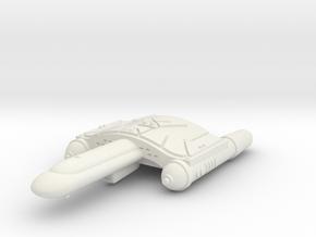 3788 Scale Romulan SkyHawk-L Destroyer Leader WEM in White Natural Versatile Plastic