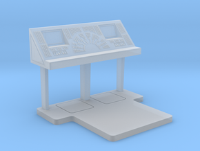 Command Console - Free Standing 1/48 in Smooth Fine Detail Plastic