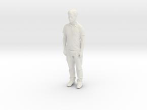 Printle C Homme 847 - 1/24 - wob in White Natural Versatile Plastic