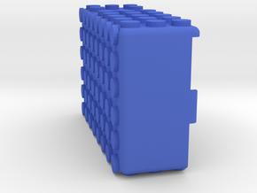Kmods Squonker BLOCKS MECH in Blue Processed Versatile Plastic