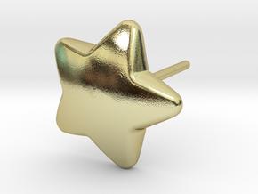 Star Earring in 18k Gold