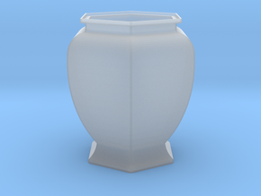 URN 0.8mm in Smooth Fine Detail Plastic