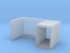 Miniature Malm Desk - IKEA in Smooth Fine Detail Plastic: 1:35