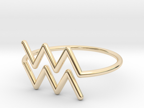 Aquarius in 14K Yellow Gold: 6 / 51.5