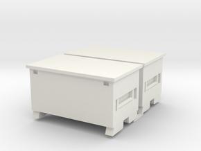 Rigid 32 R 2Pack 1-32 Scale in White Natural Versatile Plastic