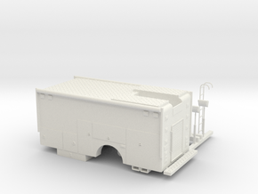 1/64 Rescue/Command body in White Natural Versatile Plastic