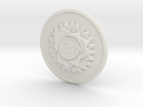 Crown Chakra  or Sahaswara in White Strong & Flexible