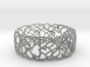 Sketch Bracelet in Metallic Plastic