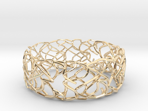 Sketch Bracelet in 14k Gold Plated