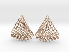 Baumann Earrings in 14k Rose Gold Plated