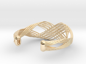 Fellah Truss in 14k Gold Plated Brass: Large