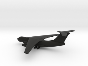 Ilyushin Il-76 Candid in Black Strong & Flexible: 1:600