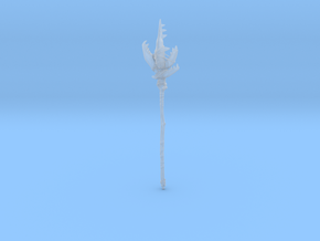 """BotW"" Dragonbone Moblin Spear in Smooth Fine Detail Plastic: 1:12"