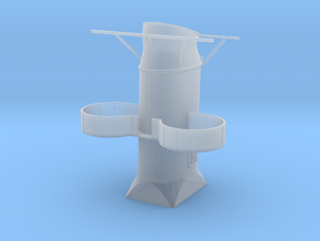 1/125 Scale Fletcher Aft Stack in Smooth Fine Detail Plastic