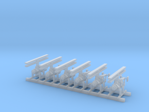 1/125 Scale QH-50D Set Of 6 in Smooth Fine Detail Plastic