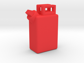 1:35 GAS/WATER TANK in Red Processed Versatile Plastic: 1:35