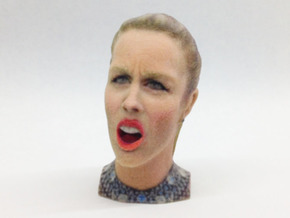 Ashley Wagner's Angry Face Olympic Meme in Full Color Sandstone