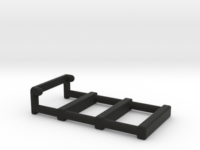1:35 LADDER/FOR THE JEEP ORLANDO RACK in Black Natural Versatile Plastic: 1:35
