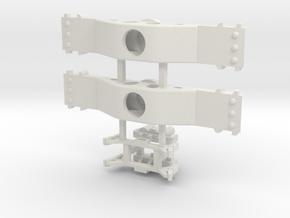Flush Mount Bolster 100t RB New AtlasO Ow5  in White Natural Versatile Plastic