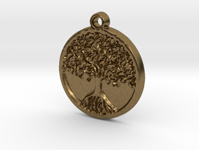 Tree of Life (Pendant) in Natural Bronze