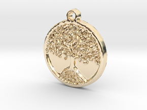 Tree of Life (Pendant) in 14K Yellow Gold
