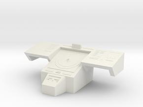 Console Type 17 (Star Trek) in White Natural Versatile Plastic: 1:30