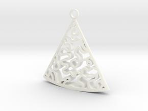 Baumann earrings in White Processed Versatile Plastic