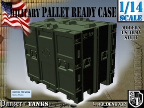 1-14 MM08 Pallet Ready Case in Green Processed Versatile Plastic
