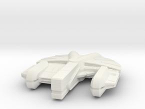 1/350 scale Ebon Hawk in White Strong & Flexible