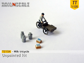 Milk tricycle (TT 1:120) in Smooth Fine Detail Plastic