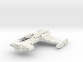 Klingon D32 FireCruiser in White Natural Versatile Plastic