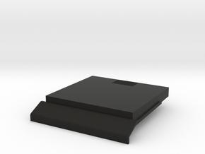 HP-75 Battery Door in Black Natural Versatile Plastic