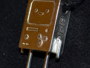 BMO Pendant in Polished Silver