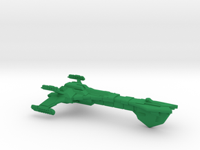 Remoran D'Stroyer Class Battleship - 1:7000 in Green Strong & Flexible Polished