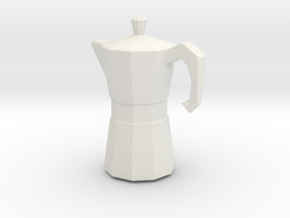 Printle Thing CoffeeMachine - 1/24 in White Natural Versatile Plastic