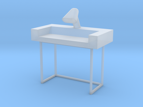 Main Mission Desk Type 1 S1  (Space: 1999), 1/30 in Smooth Fine Detail Plastic