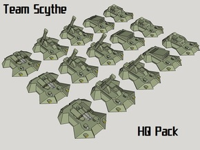 """Team Scythe"" 3mm Anti-Grav HQ Group (15pcs) in Smooth Fine Detail Plastic"