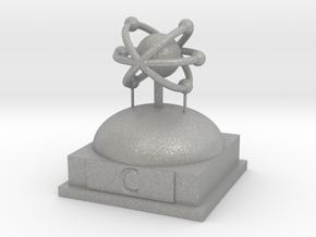 Carbon Atomamodel in Aluminum