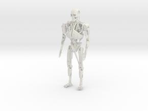 1/6 T-800 Terminator  in White Natural Versatile Plastic