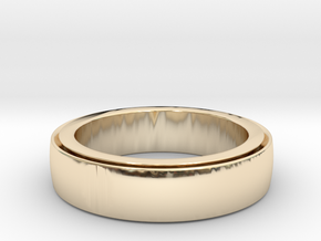 Ring Spinner  in 14K Yellow Gold: 6 / 51.5