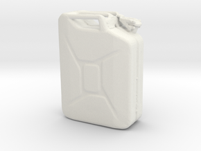 Printle Thing Jerrycan - 1/24 in White Natural Versatile Plastic
