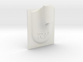 Oculus Sensor Mount Sticky in White Natural Versatile Plastic