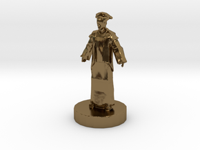 Chinese King (1) in Polished Bronze